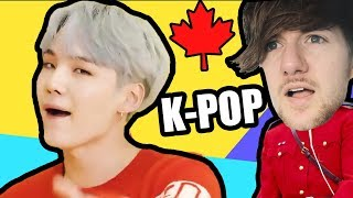 Canadian Tries K-POP | (BTS 방탄소년단 - 'DNA')