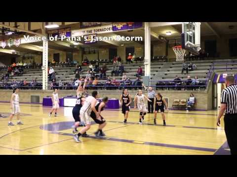 Taylorville vs Pana Girls Basketball 1-26-16