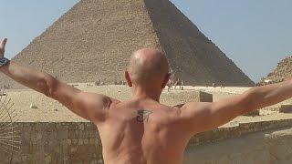 2015 г. Египет. Каир.  Пирамиды плато Гиза.