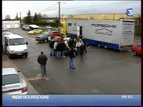 Reportage Formula Student ISAT sur France 3 Bourgogne - 2007