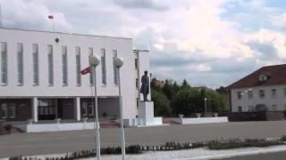 Беларусь Мядель Ленин над Мястром (Lenin over the lake Myastro)