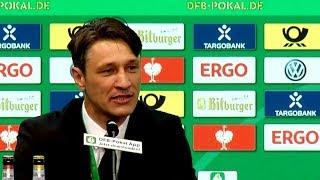 Highlights der PK nach dem Pokal-Finale mit Niko Kovač
