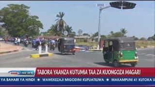 Hatimaye Tabora yaanza kutumia taa za kuongozea magari, sikia wanavyosema