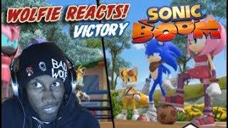 Wolfie Reacts: Sonic Boom Season 2 Episode 39