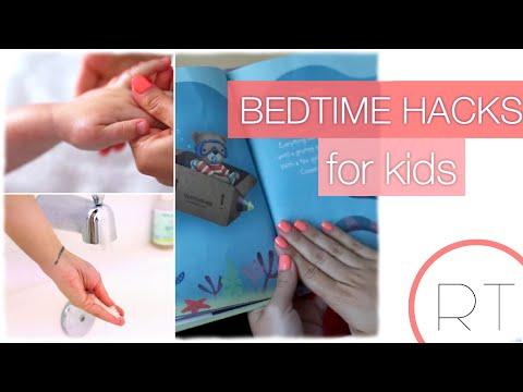 Bedtime Hacks + DIY For Kids