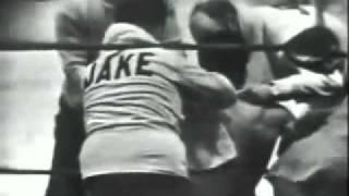 Sugar Ray Robinson knocks out Jake LaMotta II