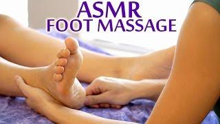 👣 ASMR Massage - Foot Massage Technique For Women - Soft Spoken Meera Hoffman