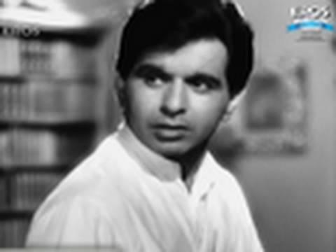 Dilip Kumar and Madhubala in a classic scene Amar