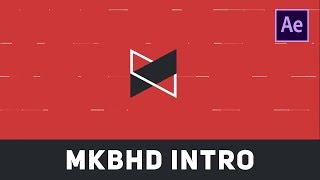 MKBHD New YouTube Intro | After Effects Tutorial