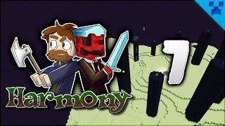 Minecraft Harmony | Fighting The Dragon! Enchants Galore! | Multiplayer Modded Survival Episode 7