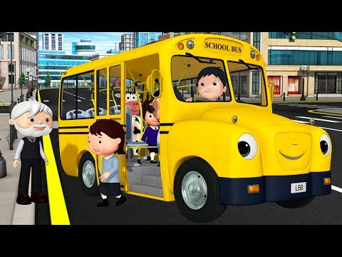 Xxx Mp4 Wheels On The Bus Original More Nursery Rhymes Amp Kids Songs Little Baby Bum 3gp Sex
