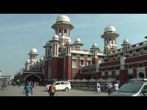 Agra to Lucknow by train