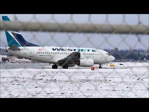 Xxx Mp4 WestJet 737 600 Icy Take Off Abbotsford International YXX 3gp Sex