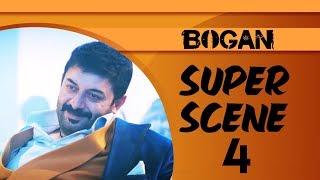 Bogan - Super Scene 4 | Hindi Dubbed | Jayam Ravi | Arvind Swamy | Hansika Motwani