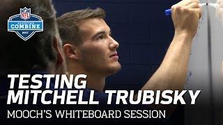 Testing Mitchell Trubisky's Football IQ with Steve Mariucci | Mooch's Whiteboard | NFL Network