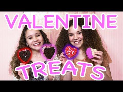 DIY Valentine s Day Heart Treats Haschak Sisters