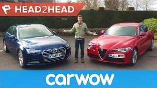Alfa Giulia vs Audi A4 - can Italy beat Germany's finest?   Head2Head