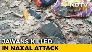 9 CRPF Personnel Killed In Maoist Attack In Chhattisgarh