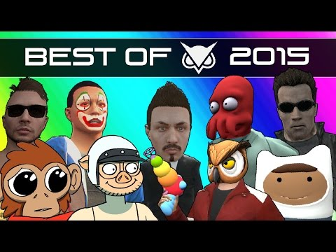 Vanoss Gaming Funny Moments Best Moments of 2015 Gmod GTA 5 Zombies Dead Realm & More