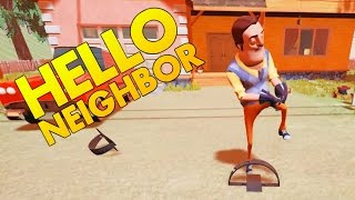 Hello Neighbor - Trapping the Neighbor - Secret Ending? - Let