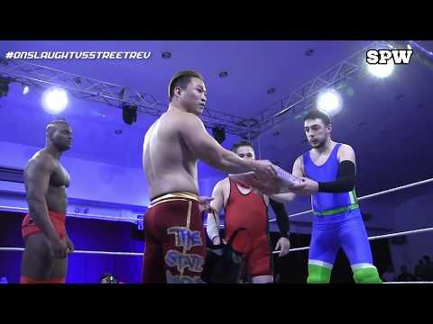 VPW Tag Team Championship: Street Revolution (c) v Onslaught