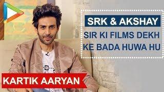 "Kartik Aaryan: ""SHAH RUKH KHAN Sir is My All time Favourite Actor"" | Twitter Fan Questions"