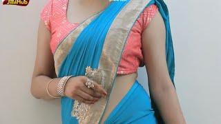 Quick Indian Saree Drape   See How to wear Sar