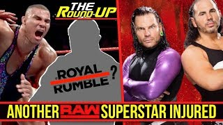RAW Champion INJURED, WWE 2K18 Hardy Boyz DLC, Another Impact Wrestling Star DONE - #TheRoundUp #223
