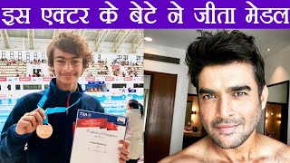 Bollywood Actor R.Madhavan's son wins bronze medal in Swimming for India   FilmiBeat