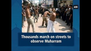 Thousands march on streets to observe Muharram - #ANI News
