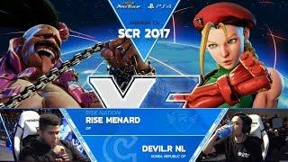 SFV: MenaRD vs. Devil.R NL - SCR 2017 Top 8 - CPT 2017