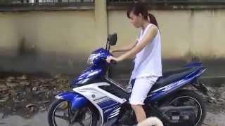 Hướng dẫn chạy xe Exciter Cho Gấu hài vcl