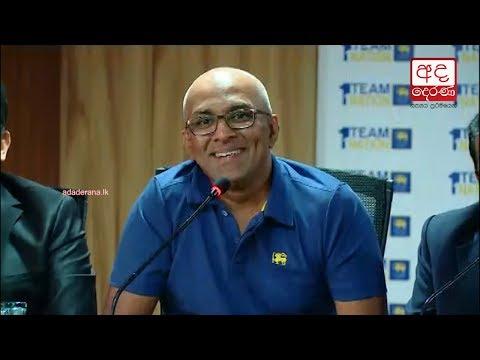 Chandika Hathurusingha takes charge as Sri Lanka cricket coach