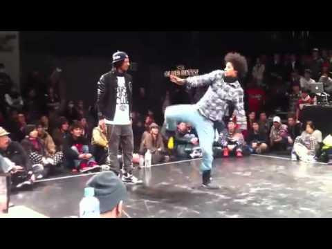تحدي للثنائي رقص راب