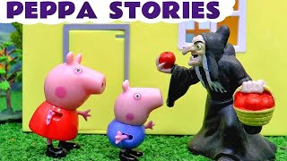 Peppa Pig English Episodes Compilation Play Doh Halloween with Thomas and Friends Toy Trains TT4U