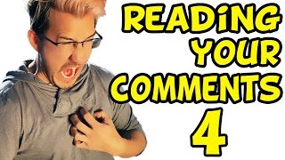 MARK HAD A HEART ATTACK?!   Reading Your Comments #4