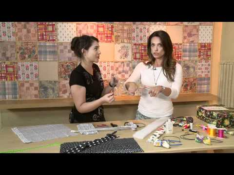 Vida Melhor Artesanato laço e tiara Alessandra Byzetto