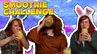 THE EASTER SMOOTHIE CHALLENGE! 🐇 | Office Antics