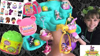 Fur Babies Dream Tree & 3 New Blind Bags! Barbie Pets, Cabbage Patch Little Sprouts, Care Bear Moji