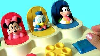 Aprenda Cores com Mickey Mouse Pop-Ups ToysBR   Disney Baby Mickey Mouse Pop Up Pals TOYS BR