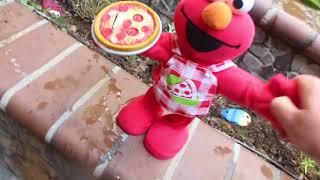 Singing Pizza Elmo Destruction