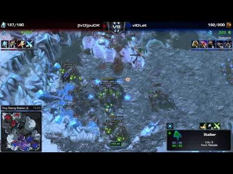 SC2 - Daily Masters - PvZ - puCK vs viOLet