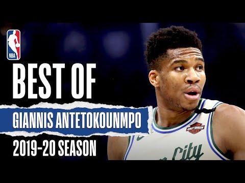 Best Of Giannis Antetokounmpo 2019 20 NBA Season