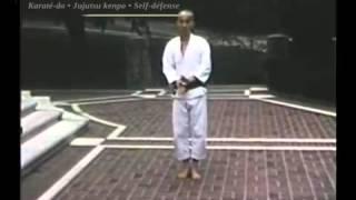 Karate Wado Ryu Hironori Otsuka - vidéo inédite du grand maître !  présentée par Budo Attitude