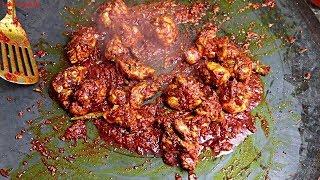 ASMR-Tawa chicken.!  Tawa chicken Recipe