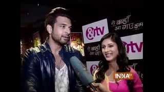 Yeh Kahan Aa Gaye Hum: Karan Kundra and Saanvi Talwar on Kissing Scene - India TV