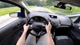 Ford Ecosport 2014 POV test drive GoPro
