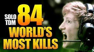 84 Kills SOLO Core TDM - World's Most Kills in Infinite Warfare (Even More Than OpTic Scump!)
