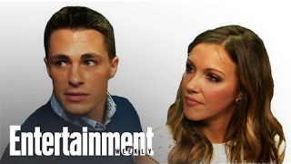 Arrow' Cast And Crew Interview | Comic-Con 2013 | Entertainment Weekly