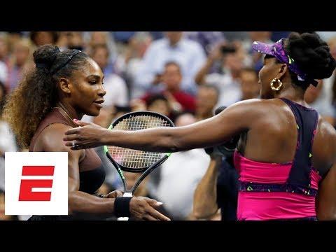 Xxx Mp4 2018 US Open Highlights Serena Williams Advances Past Her Sister Venus In Straight Sets ESPN 3gp Sex